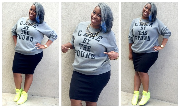 Beyonce Cake By The Pound Sweatshirt Gorgeous In Grey