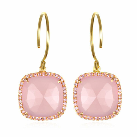 Amelia Rose Design Paris Collection Earrings in Pink