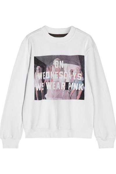 'On Wednesdays We Wear Pink' Sweatshirt