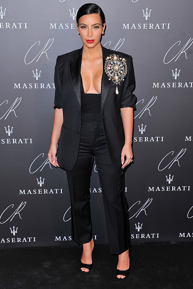 Best Suit: Kim Kardashian