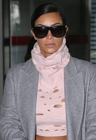 "Best ""Holes In Clothes"" Look: Kim Kardashian"