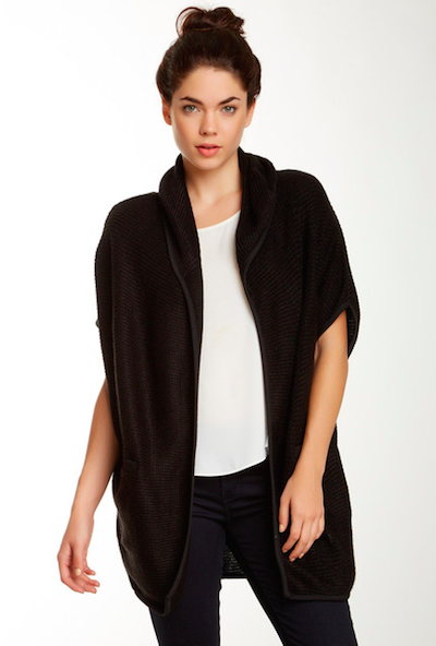 Solid Short Sleeve Coat