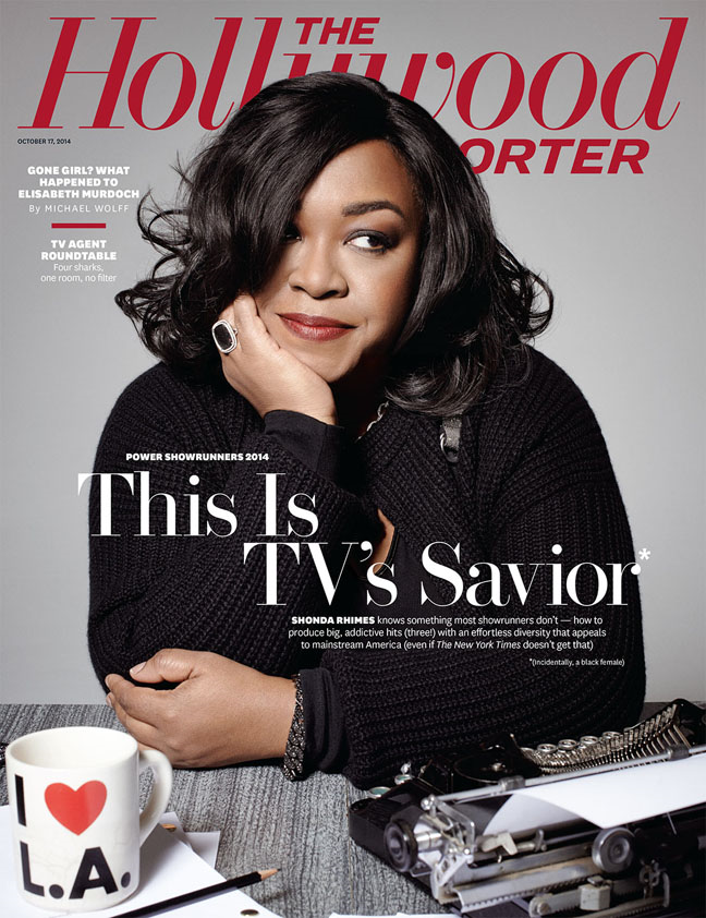 "Shonda Rhimes Labeled ""Angry Black Woman"" By NYT"