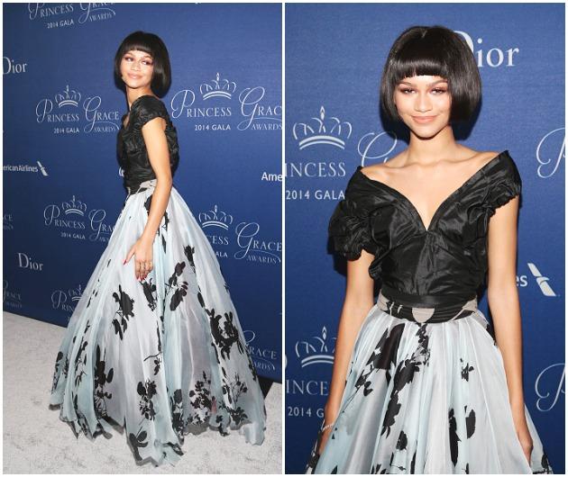 Zendaya Coleman 2014 Princess Grace Awards Gala