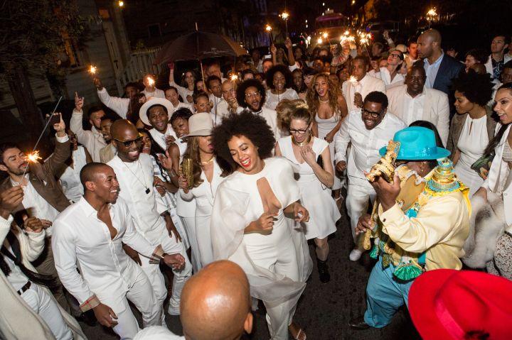 Solange's Second Line Party