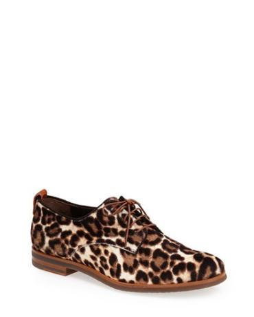 Leopard Print Oxford