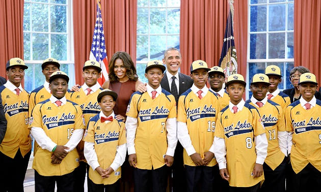 Jackie Robinson West All Stars Visit The White House