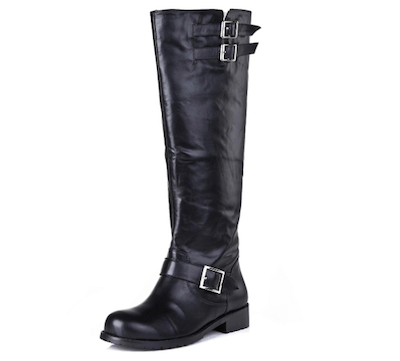 Round Toe Knee Boots