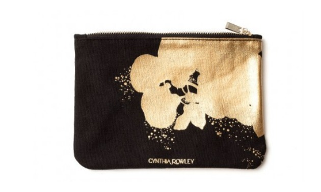 Cynthia Rowley Gilded Canvas Bag
