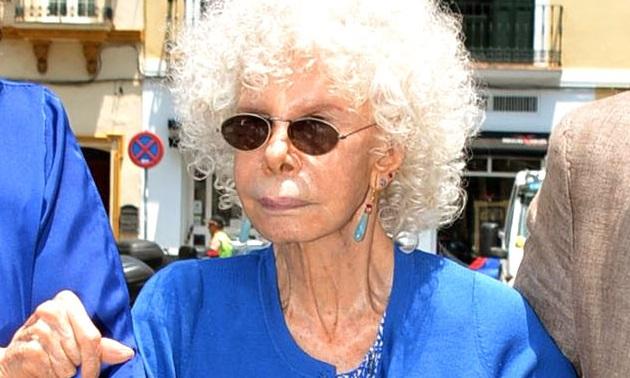 Duchess of Alba Sighting In Seville - June 17, 2014