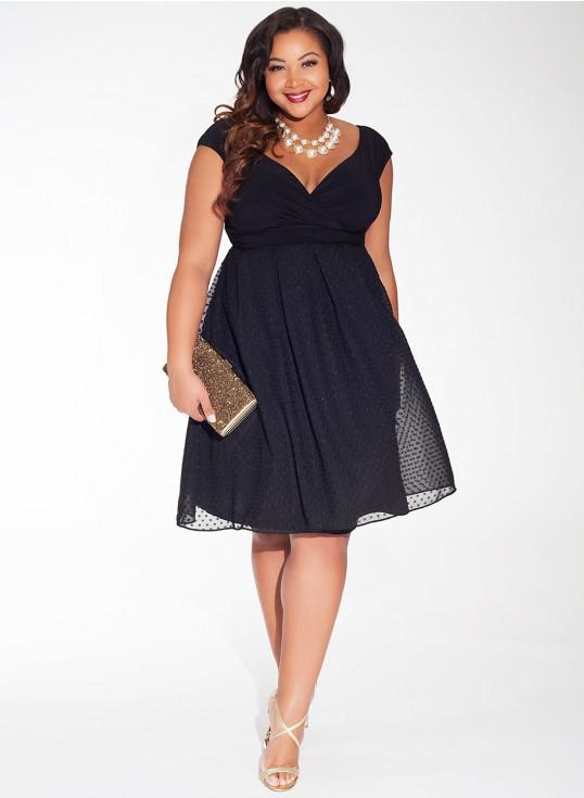 IGIGI by Yuliya Raquel Adelle Dress in Noir Dot