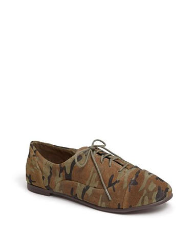 Camouflage Oxfords