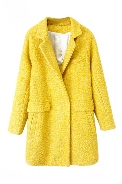 Pocked Yellow Coat