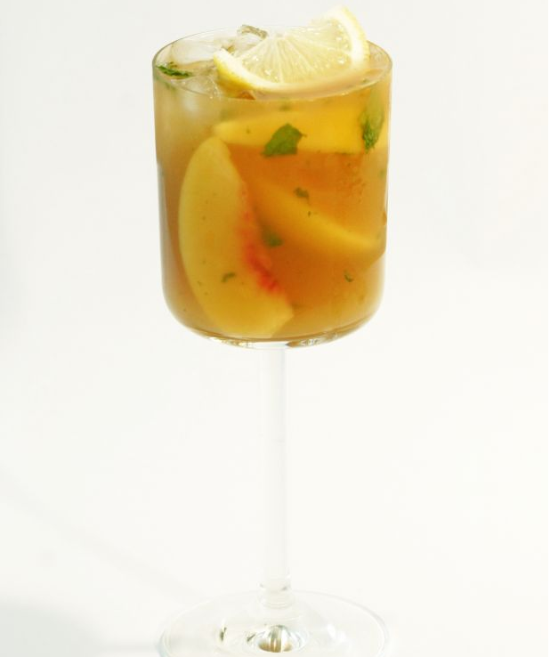 Peach Cobbler Cocktail