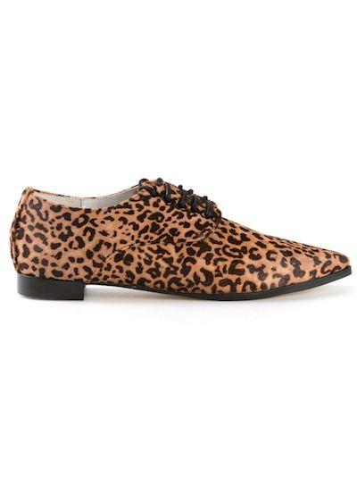 Leopard Oxfords