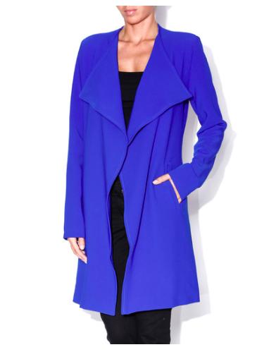 Blue Car Coat