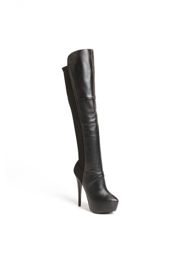 Pointy Toe Stretch Boots