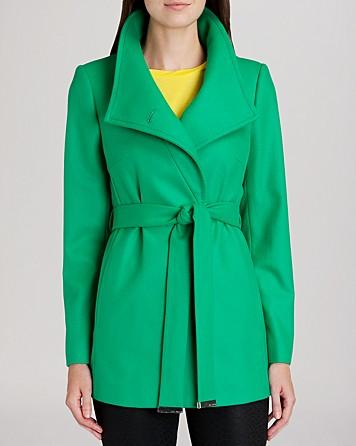Green Wrap Jacket