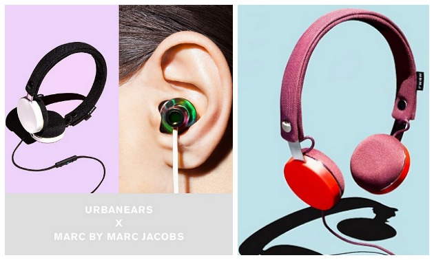Urbanears New Marc by Marc Jacobs Headphone Collection