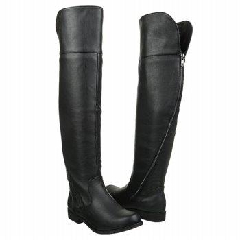 Flat Knee Length Boots