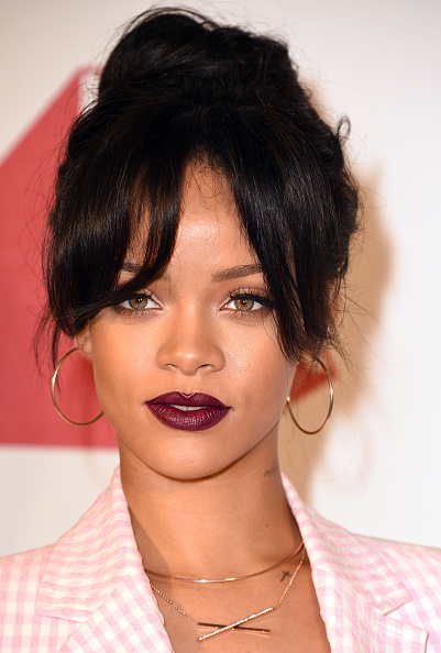 "Rihanna at the MAC Cosmetics And The MAC AIDS Fund Present Worldwide Premiere Of ""It's Not Over"" at Quixote Studios"