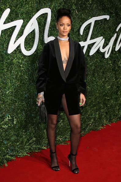 Rihanna attends the British Fashion Awards
