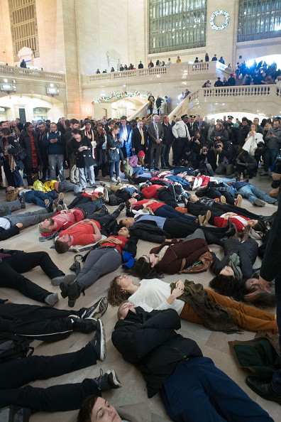 Grand Central Station Die-In
