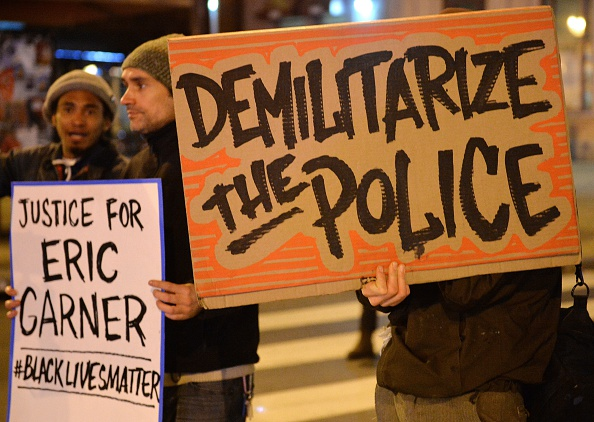 Demilitarize The Police
