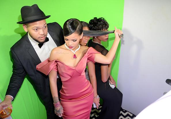 Rihanna & Rorrey Fenty