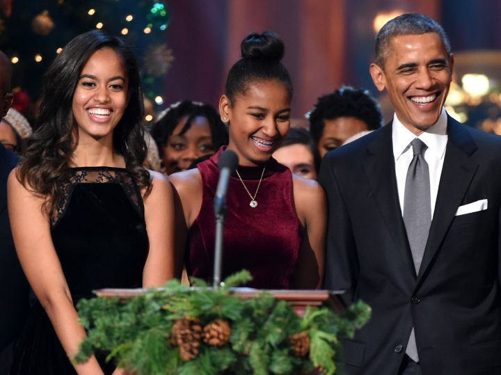 President Obama and the First Daughters
