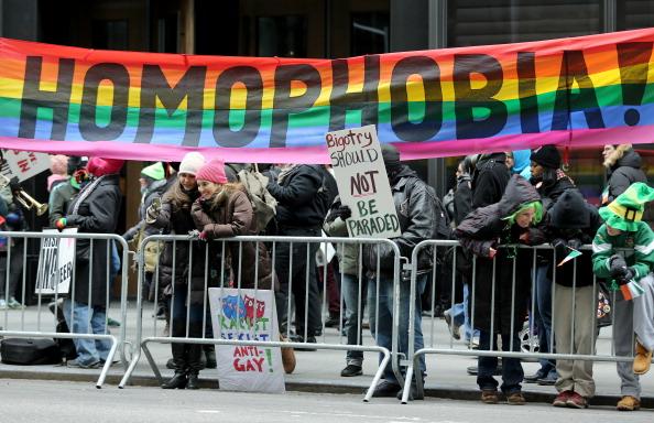 LGBT Group At St. Patrick's Day Parade