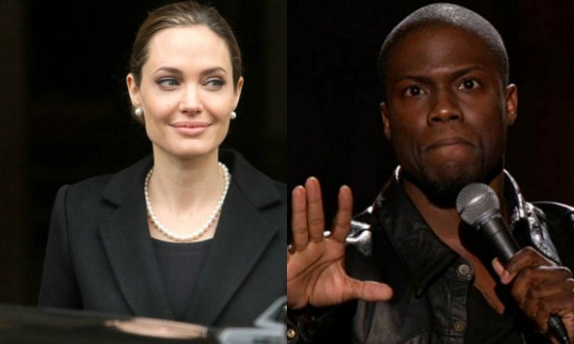 Angelina Jolie & Kevin Hart