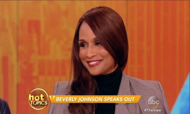 Beverly Johnson The View
