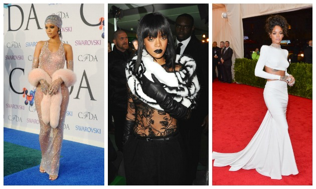 Rih-Cap: 20 Killer Looks That Rihanna Totally Slayed In 2014