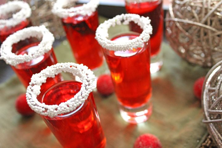Sparkling Ice Raspberry Shooters