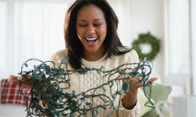 woman-christmas-lights