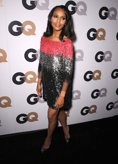 Kerry Washington attends the GQ 2011 Men of the Year Party
