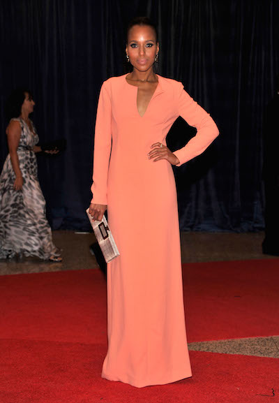Kerry Washington attends the 2012 White House Correspondents Dinner