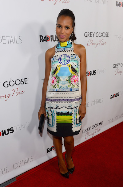 Kerry Washington attends The Details Hollywood premiere