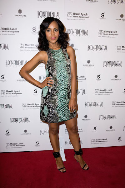 Kerry Washington attends the Los Angeles Confidential Magazine 10th Anniversary Event