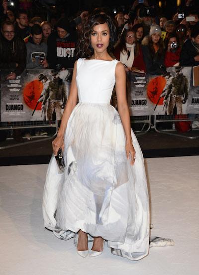 "Kerry Washington attends the ""Django Unchained"" UK premiere"