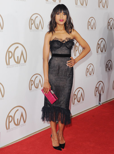 Kerry Washington attends the 2013 Producers Guild Awards