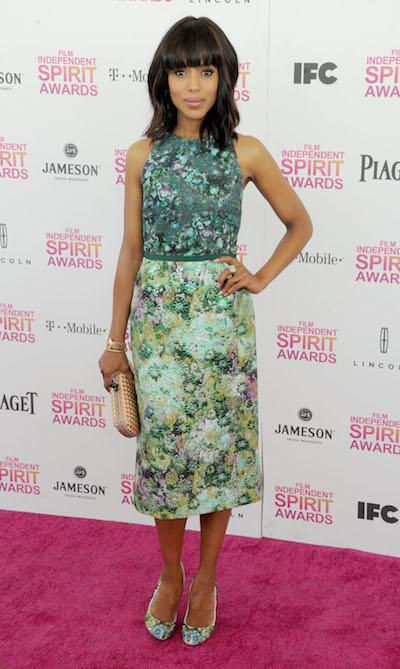 Kerry Washington attends the 2013 Film Independent Spirit Awards