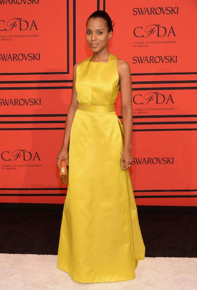Kerry Washington attends the 2013 CFDA Awards