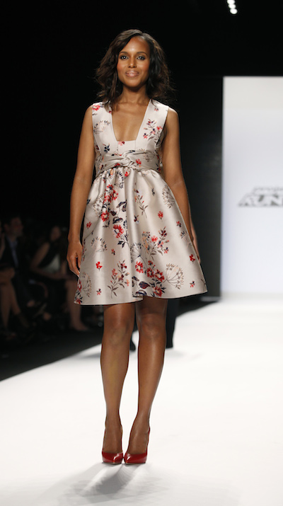 Kerry Washington attends the Project Runway finale
