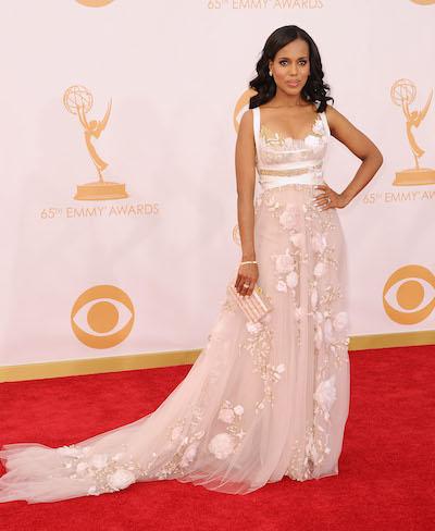 Kerry Washington attends 2013 Emmy Awards