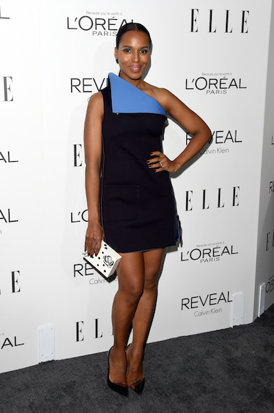 Kerry Washington attends the 2014 ELLE Women in Hollywood Celebration