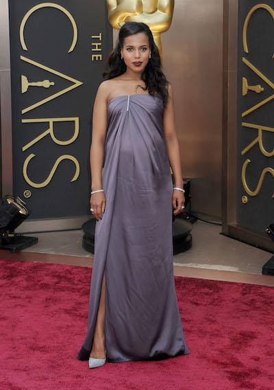 Kerry Washington attends the 2014 Oscars