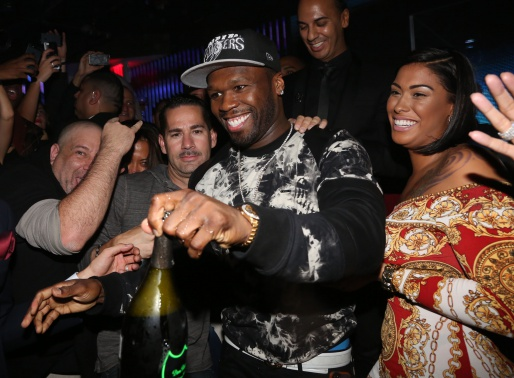 50 Cent Makes A Special Appearance At VIP Room NYC