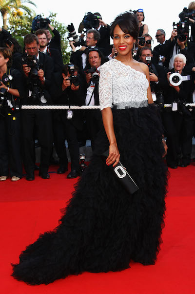 Kerry Washington attends the Face premiere at Cannes